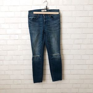 """Madewell 9"""" Rise Skinny Jeans"""